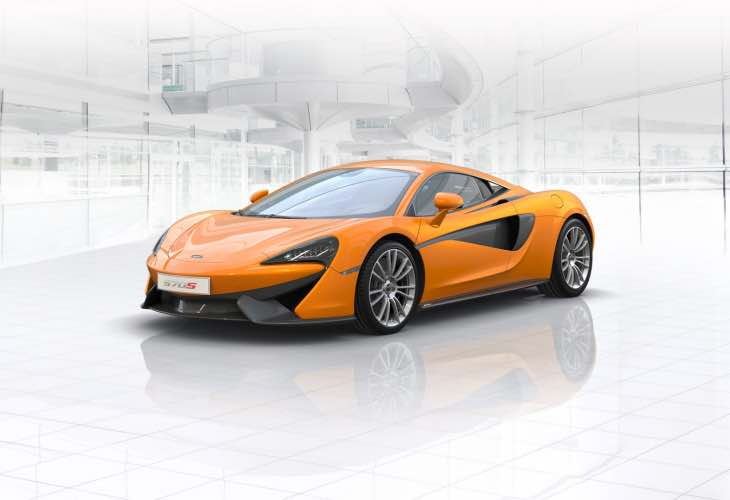 Optional McLaren 570S extras for personal customization