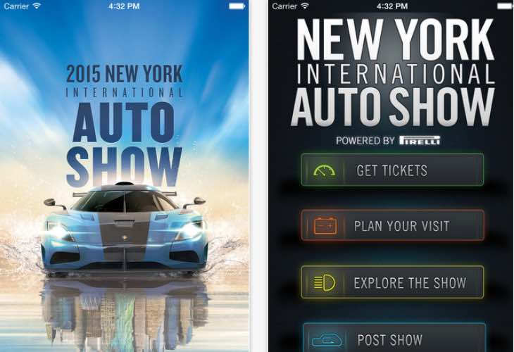 Options for New York Auto Show 2015 updates plentiful