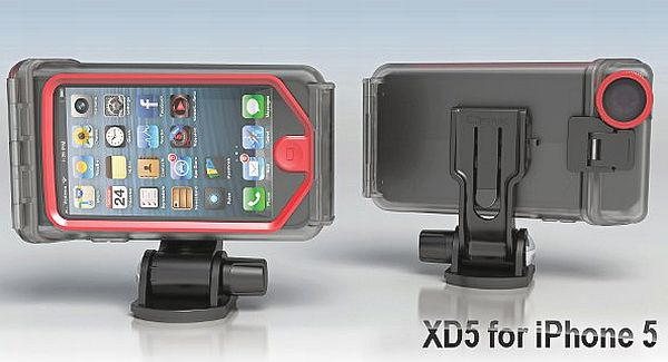 Optrix XD5, another iPhone 5 case for extreme sports