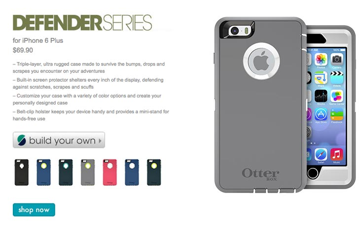 Iphone  Otterbox Defender Dimensions