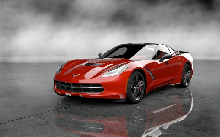 Outlandish 2014 Corvette Stingray vs. Tesla Model S comparison 1