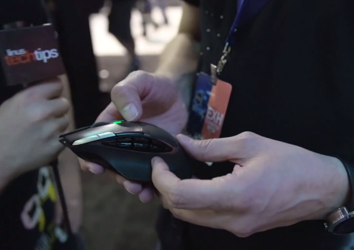 The Logitech G602 Gaming Mouse gets the hands-on treatment during PAX Prime 2013