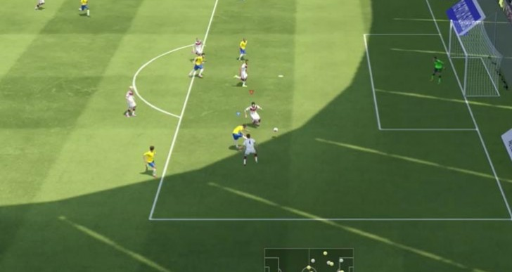 Manchester City's Fernandinho shines in PES 2015 gameplay