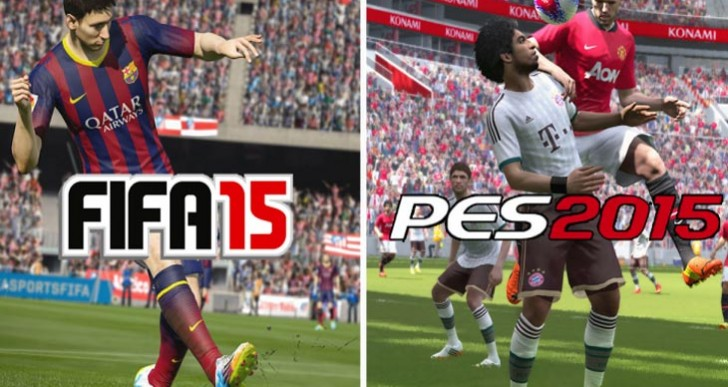 PES 2015 demo before FIFA 15 decision