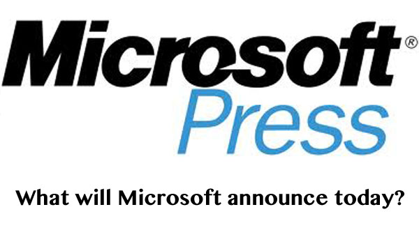 Microsoft's LA press conference today, time and location