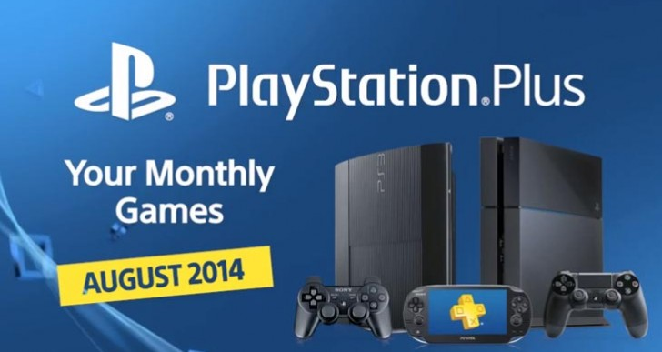 PS Plus August 2014 UK update for PS4, PS3
