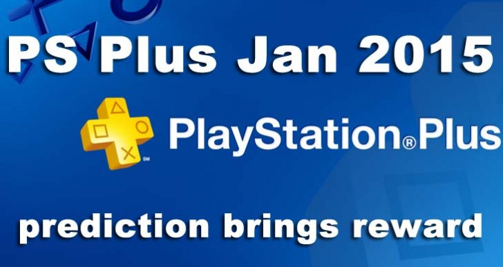 PS Plus January 2015 game predictions bring reward