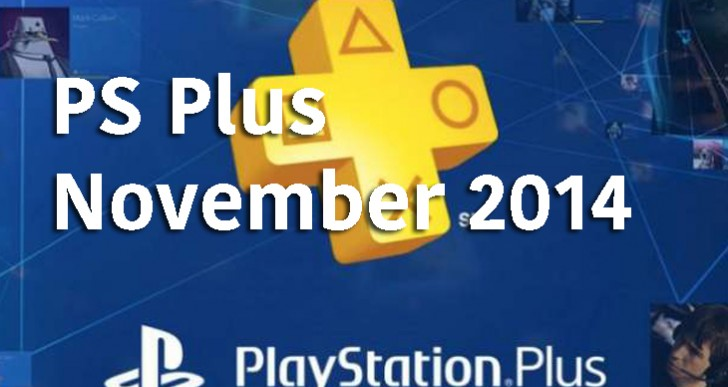 PS Plus November 2014 official free games lineup