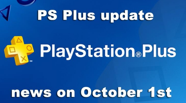 PS Plus update news will be October 1st