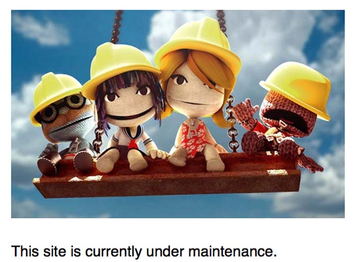 PS-website-down-PSN-maintenance-today