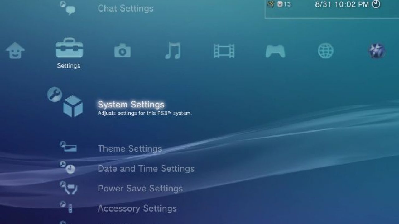 PS3 XMB menu issues continue in 2014 – Product Reviews Net