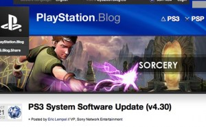PS3 4.30 firmware update, narrowing release time