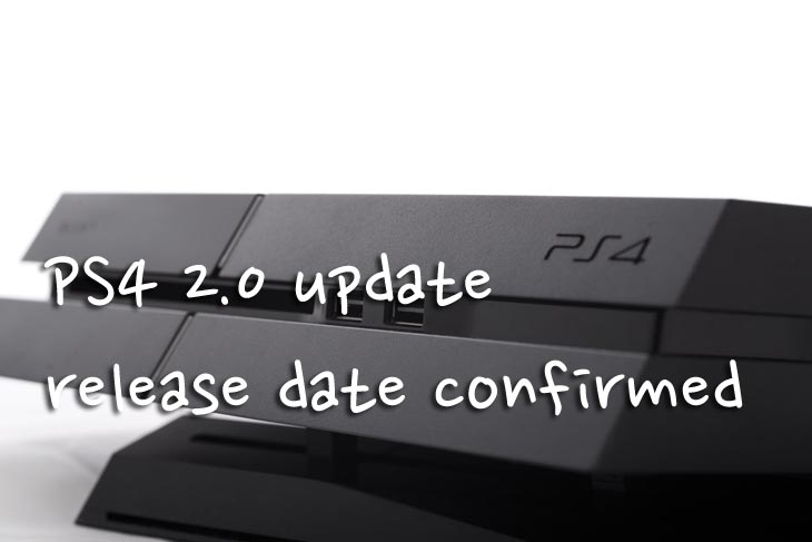 PS4 2.0 update lacks maintenance