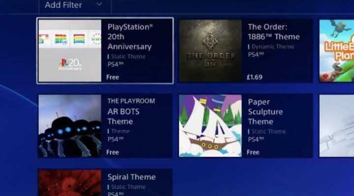 PS4 20th Anniversary Theme download with surprise