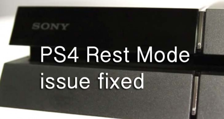 PS4 Rest Mode issue fixed with 2.01 update