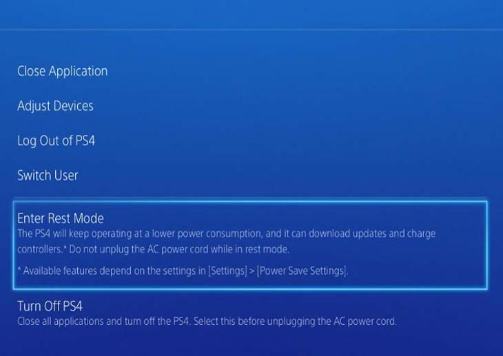 PS4-Rest-Mode-menu-options