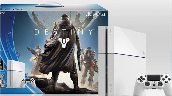 PS4 White Destiny bundle on pre-order