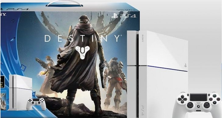 PS4 White Destiny bundle on pre-order