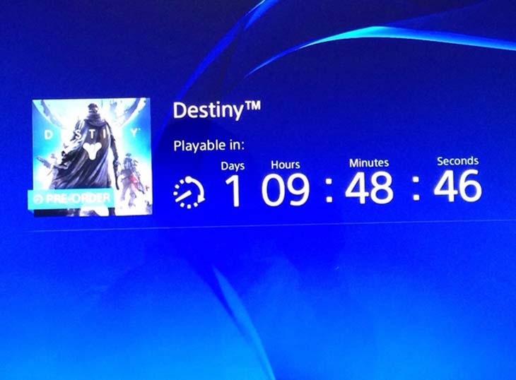 PS4-cannot-access-Destiny-countdown