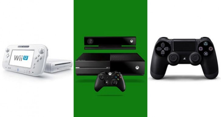 PS4 vs. Xbox One and Wii U, early review of usage