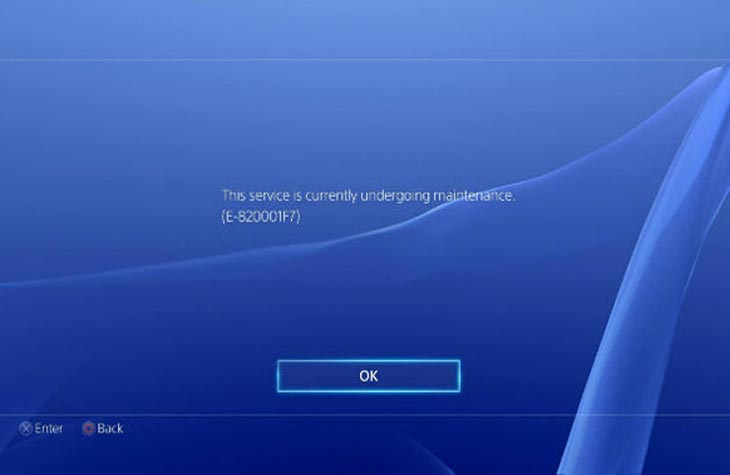 PSN-Store-down-with-E-820001F7-maintenance