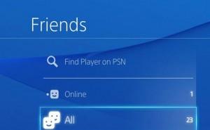PSN friends list problems, loading slow