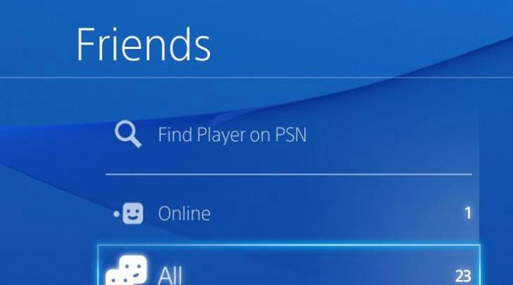 PSN friends list problems, loading slow