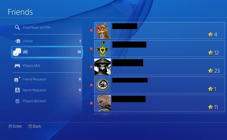 PSN-friends-list-slow