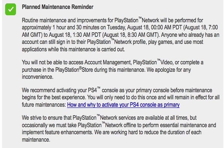 PSN-scheduled-Aug-18-maintenance