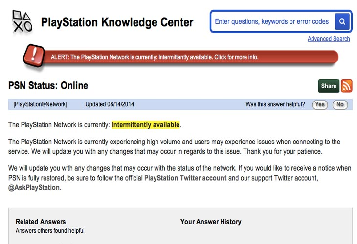 PSN-status-confirms-not-working