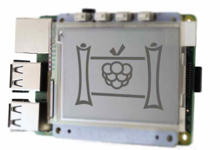 PaPiRus E Ink display for Raspberry Pi