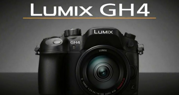Panasonic GH4 4K DSLR camera video