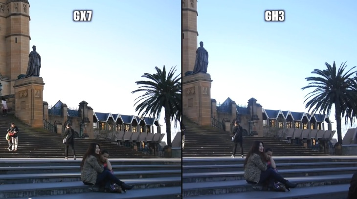 Panasonic GX7 vs. GH3 in camera comparison