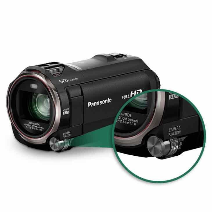 Panasonic HC-VX870K specs