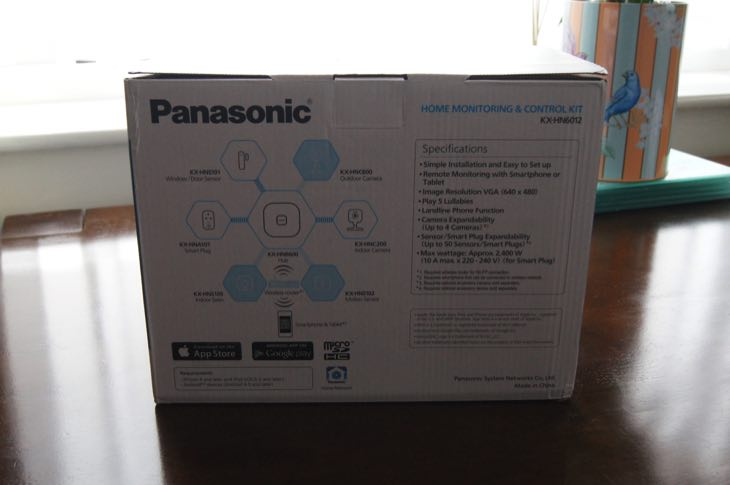 Panasonic Home Monitoring Control Kit KX-HN6012 3