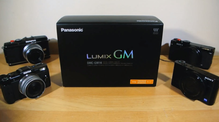 Panasonic Lumix DMC-GM1 hands-on unboxing
