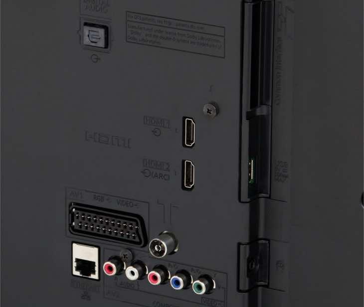 Panasonic TC-50A400U connections