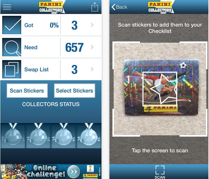 Panini-Collectors-app-iphone