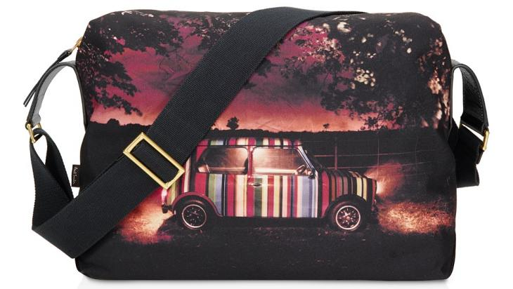 Paul Smith Mini Print Flight Bag for MacBook for Father's Day