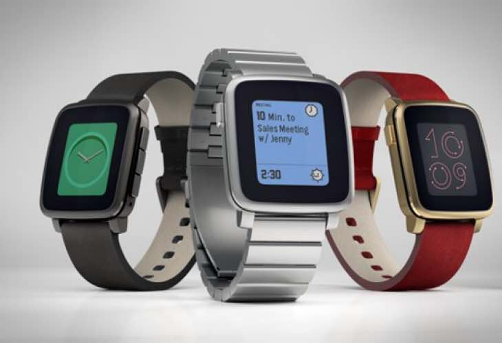 Pebble Time Steel price counters plastic Apple Watch