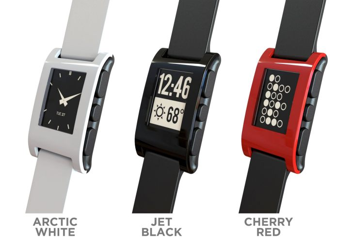 Pebble and iWatch