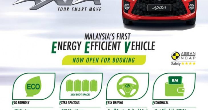 Perodua Axia price with specs from Paultan