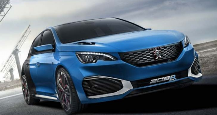 Peugeot 308 R Hybrid review urges its release