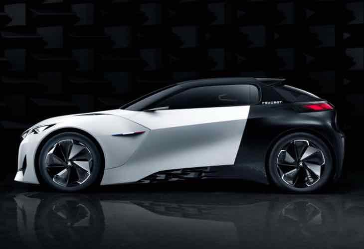 Peugeot Fractal concept at Frankfurt