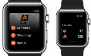 Phoenix Suns Apple Watch app for NBA roster updates