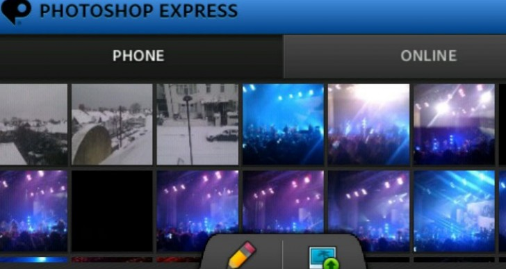 Photoshop Express update benefits Android KitKat tablets