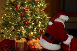 Picture of Santa in your home with Capture the Magic, Catchy app