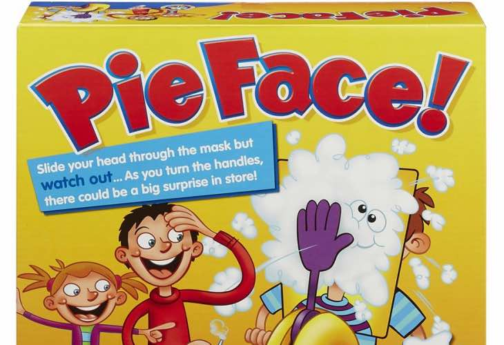 Pie Face game recall