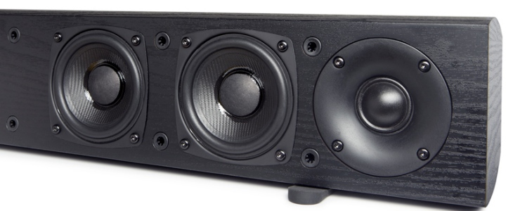Pioneer SP-SB23W speaker bar system with 6 individually amplified speakers