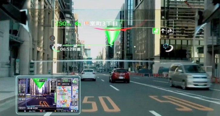 Pioneer at CEATEC 2013: HUD devices and Augmented Reality